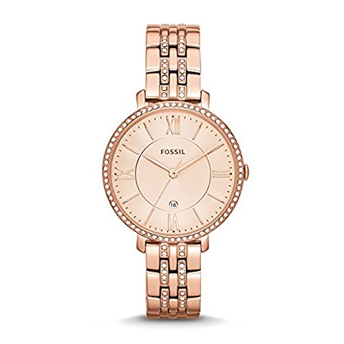 Fossil Jacqueline Analog Rose Gold