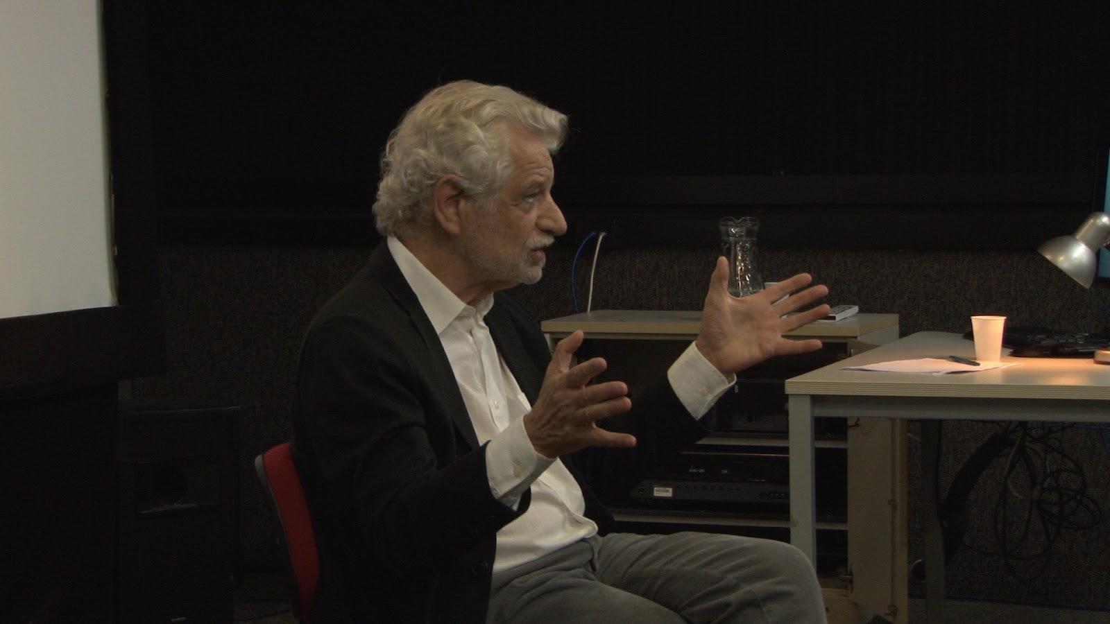 """prof. Thomas Elsaesser em palestra sobre o filme """"Ilha do Sol"""" (2017) e sobre o livro """"Cinema como Arqueologia das Mídias"""""""