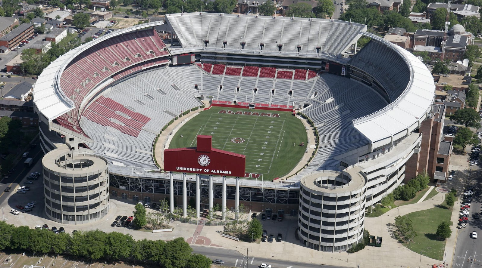 Image result for alabama stadium