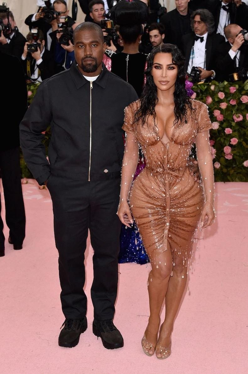 Image result for kanye west met gala