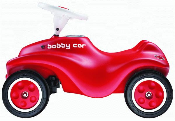Recenze Pompo.cz: Bobby Big Car červené odstrkovadlo