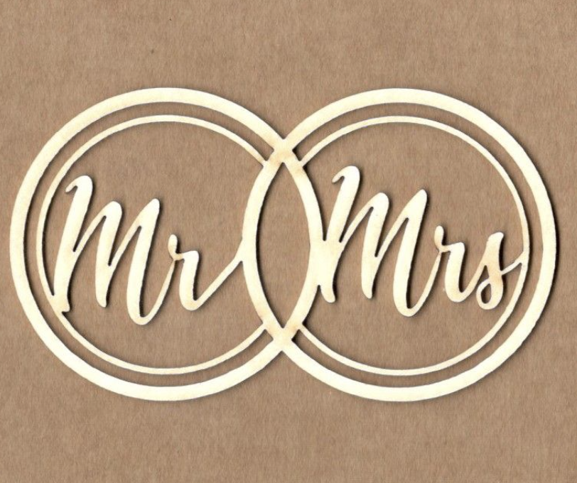 Mr & Mrs. signs