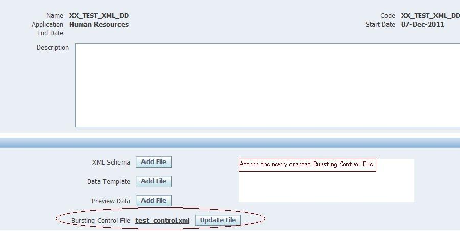 Erp Oracle Applications How To Use Xml Bursting To Send