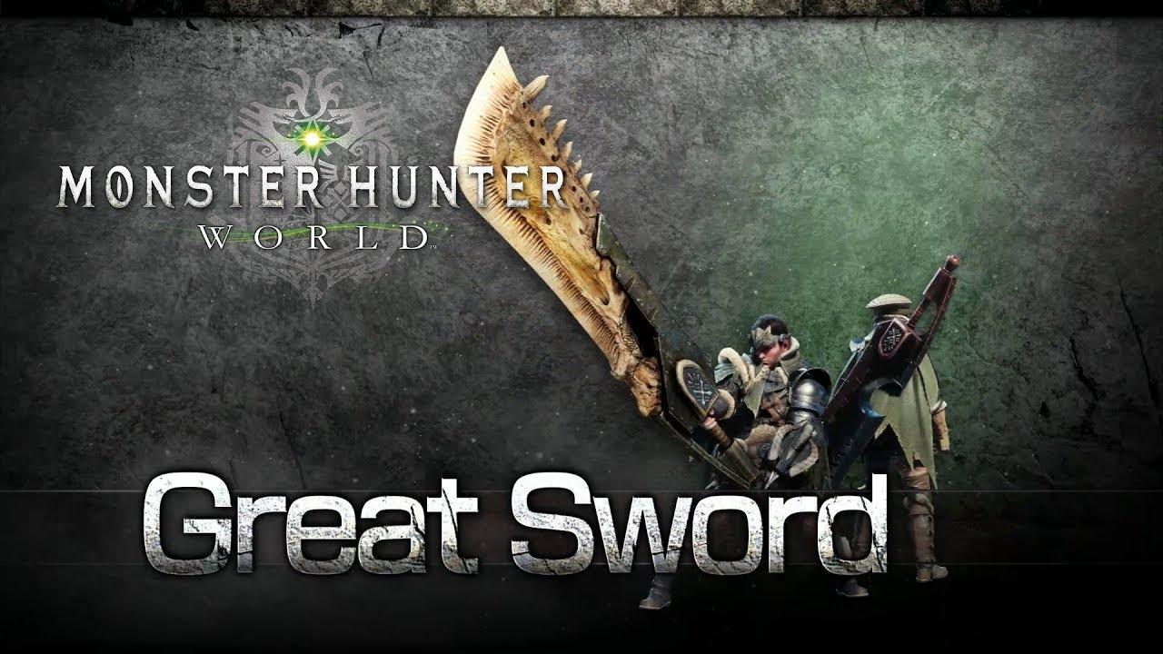 Monster Hunter World: Iceborne solo weapons great sword