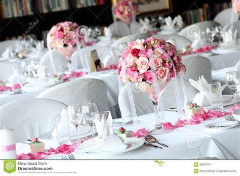 Wedding Table Stock Image   Image: 28934741