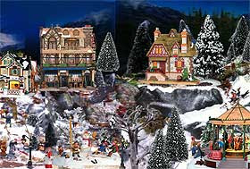 Winter Christmas Villages History And Displaying Christmas Village