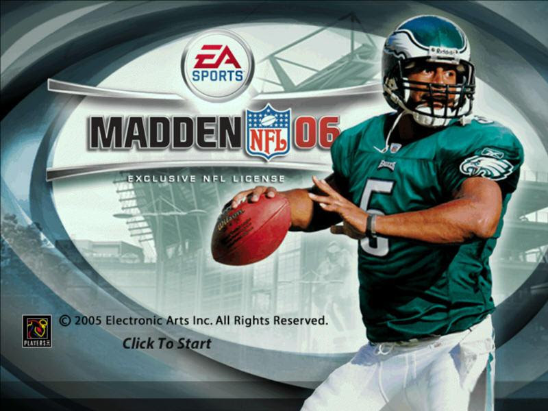 Madden NFL 06 Download 2005 Sports Game
