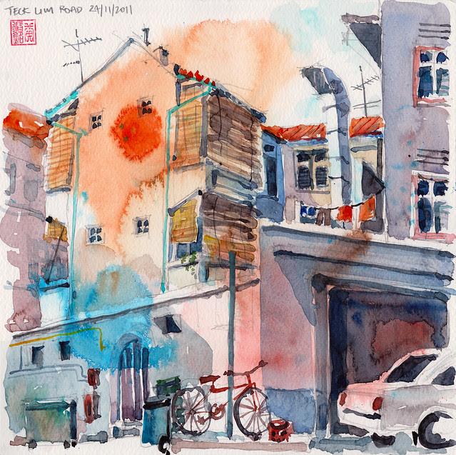 Back Alley, Teck Lim Road