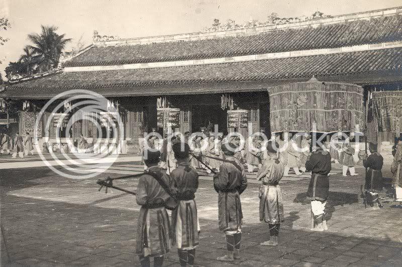 việt nam h 236 nh ảnh xưa lễ đăng quang của vua bảo 208 ại