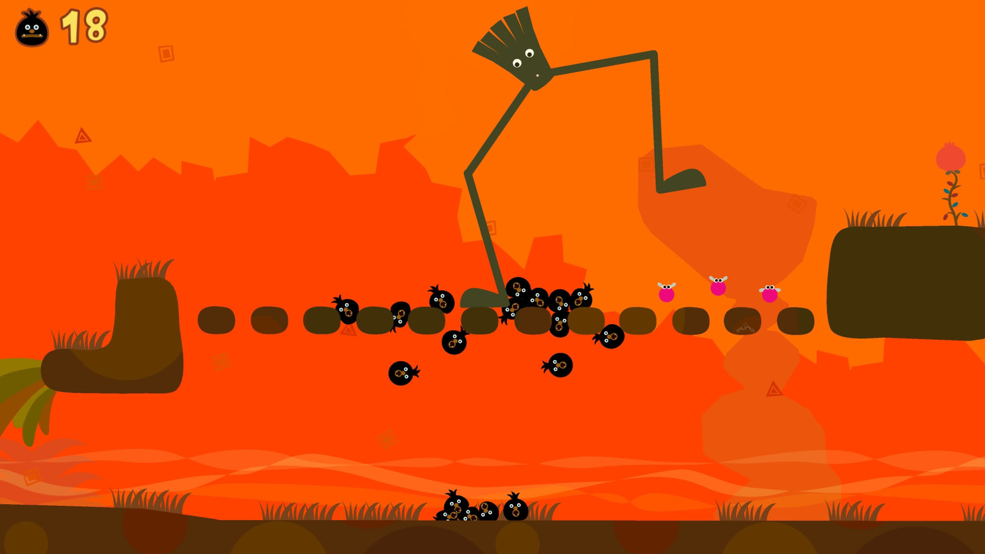 Review: LocoRoco Remastered screenshot