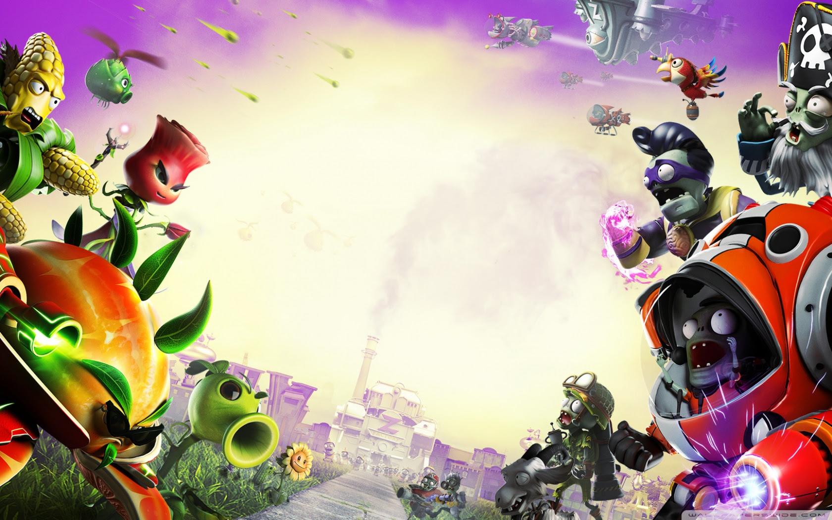 Plants Vs Zombies Garden Warfare 2 Ultra Hd Desktop Background