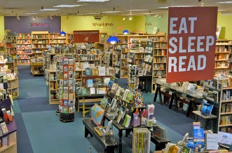 Interior of the Porter Square Bookstore