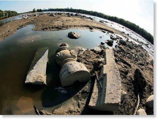 sequía revela tesoros2