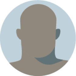 Icon of a faceless bald man, who is a POC (this image is not representative of the actual individual)