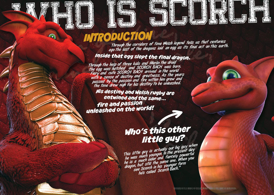 Scorch, the WRU Dragon