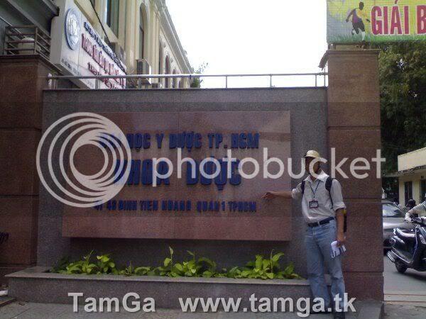 Trường tiếp theo là trường Đại Học Y Dược TPHCM - Khoa Dược