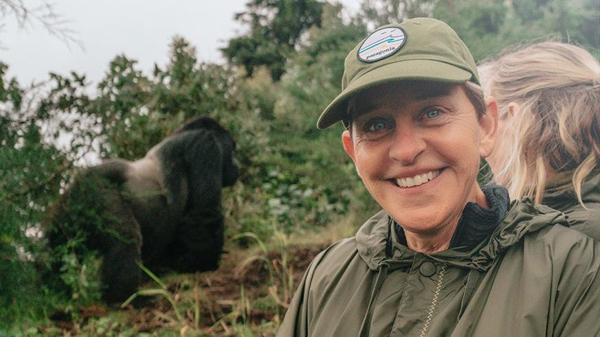 Ellen in Virunga Park. / Courtesy