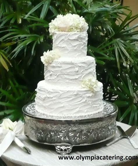 Round Wedding Cake, Messy Icing, Three Tiers   Wedding