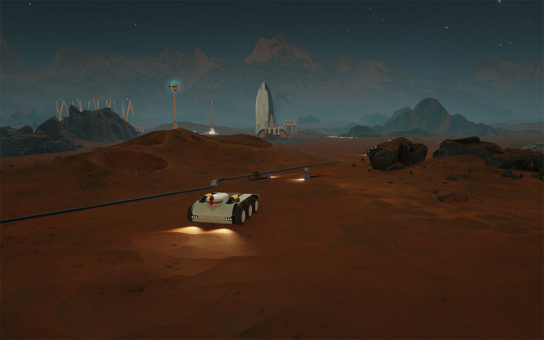 Surviving Mars isn't afraid to let you die on the red planet screenshot