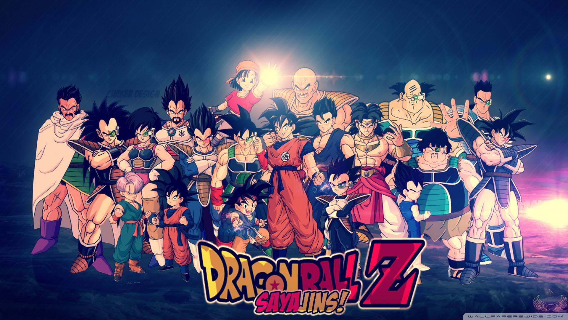 Dragon Ball Z Hd Wallpaper By Chaker Design 4k Hd Desktop