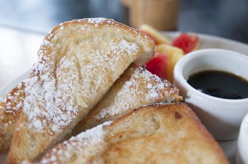 Brioche French Toast, The Plant Cafe Organic, San Francisco