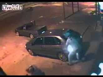 Ladrón se Teletransporta y Huye durante Asalto / Teleportation Thief