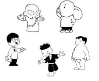 Dibujos Para Colorear Shuriken School Morning Kids