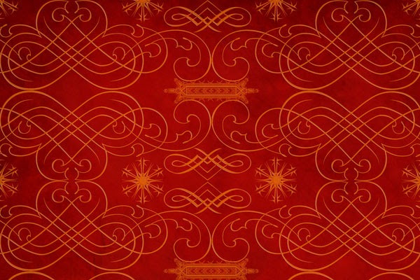 Red & Gold Holiday Paper