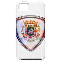 Puerto Rico - Seal on Shield iPhone 5 Case