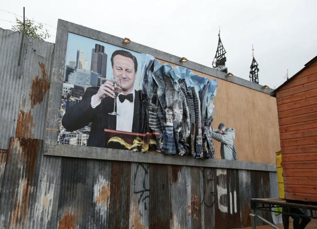 Dismaland, por Banksy: esta é a versão obscura da Disneylândia 16