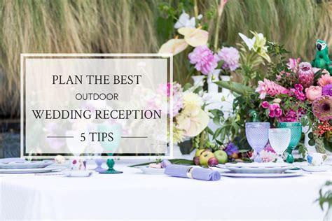 5 Outdoor Wedding Reception Tips   San Diego Wedding