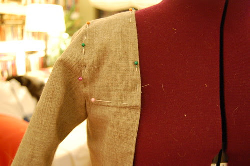 Making a robe a l'anglaise 33