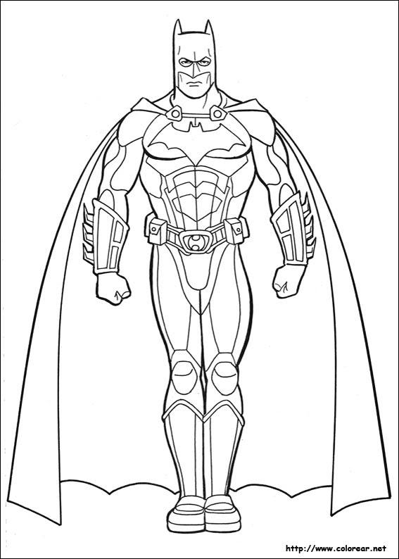 Maestra De Infantil Batman Dibujos Para Colorear Fotos Y Gifs