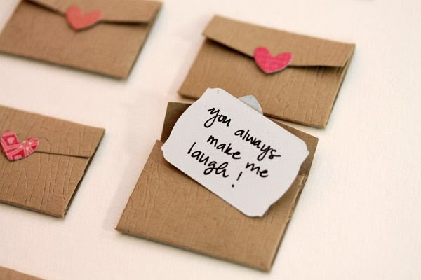 Mini Love Notes Written