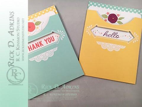 Pretty Pocket Card Kit How To