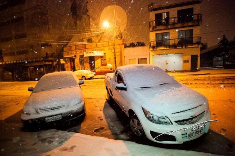 Foto do internauta Foto Moiséis, via Facebook, em Canoinhas:imagem 5