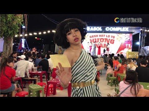 Su Su Thắm Liệu quẩy tưng bừng cùng gánh hát lô tô Hương Nam