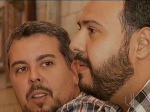 Número de casais homoafetivos que procuram cartórios está aumentando em Natal (Foto: Reprodução/Inter TV Cabugi)
