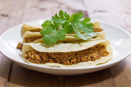 Nut Meat Tacos Variation