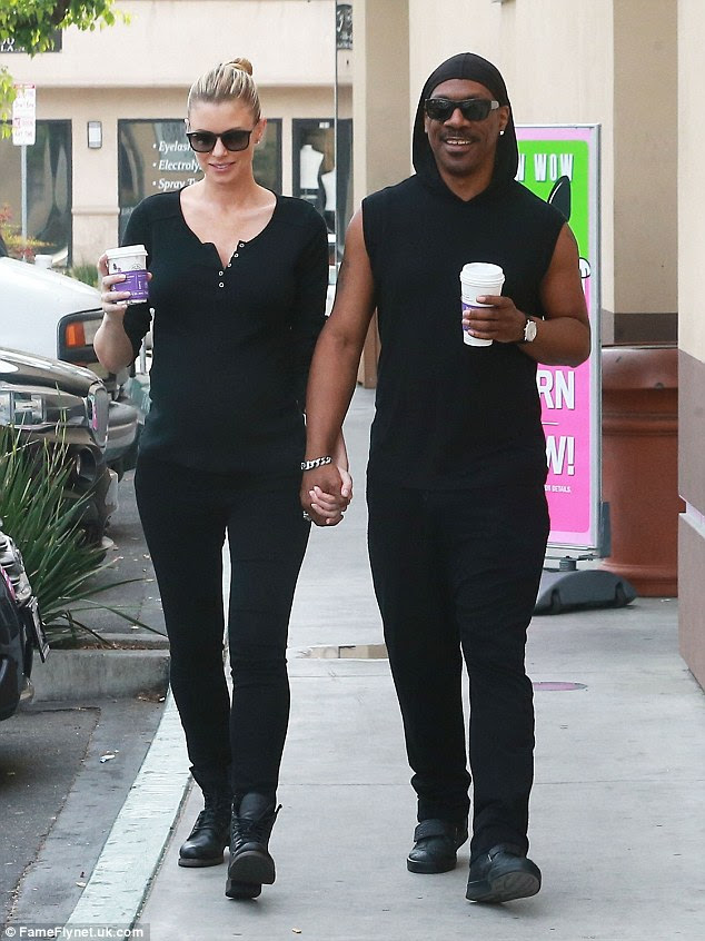 Coffee addicts? Eddie Murphy and his pregnant girlfriend Paige Butcher were spotted for the fourth time in the past week picking up hot drinks at the Coffee Bean and Tea Leaf in Studio City, California