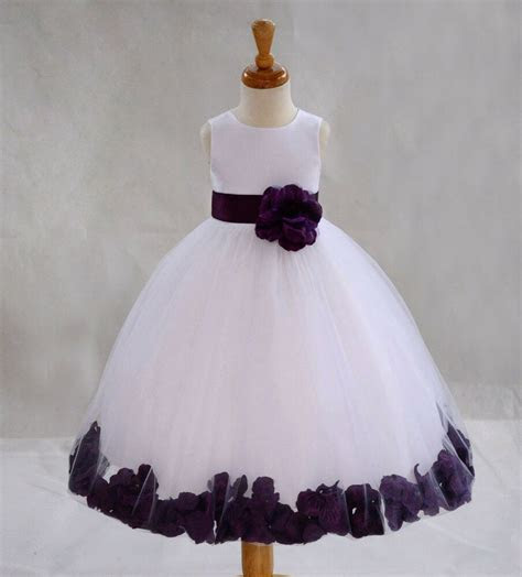 flower girl dress wedding bridesmaid birthday pageant