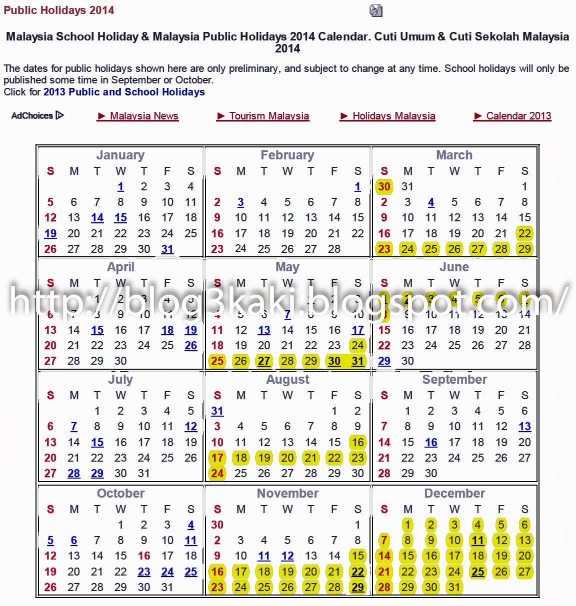 March Calendar 2017 Malaysia – 2017 March Calendar