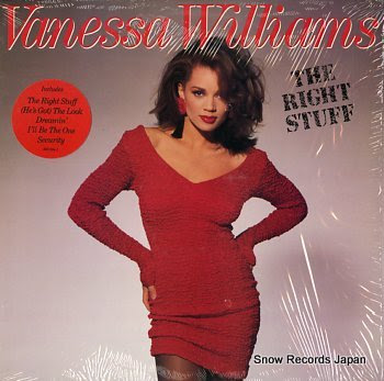 WILLIAMS, VANESSA right stuff, the
