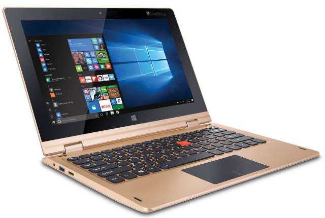 iBall CompBook i360 Convertible Laptop with Multi-Touch Display Outs at $190