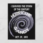 Hurricane Sandy Postcard