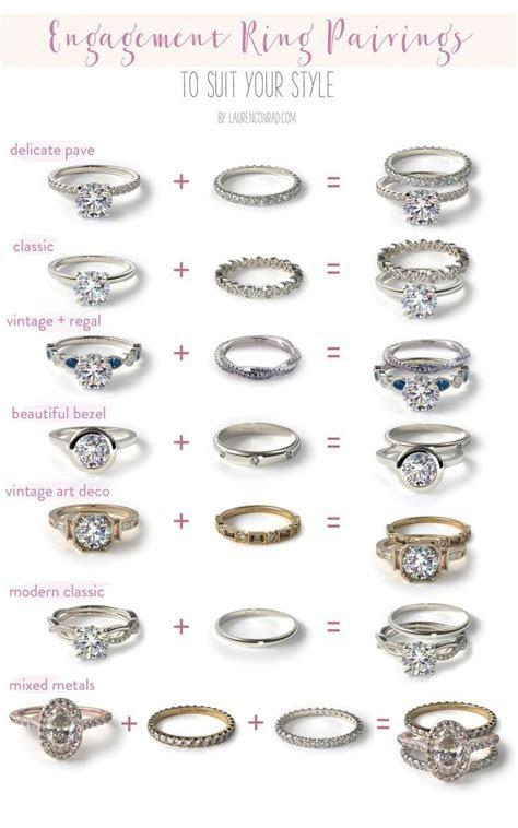 Wedding Bells: Our Favorite Engagement Ring   Wedding Band