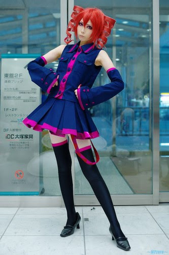 Kasane Teto Cosplay - kasane-teto Photo