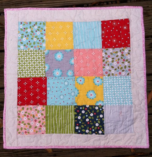 wallflowers doll quilt