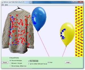 Μπαλόνια και Στατικός Ηλεκτρισμός