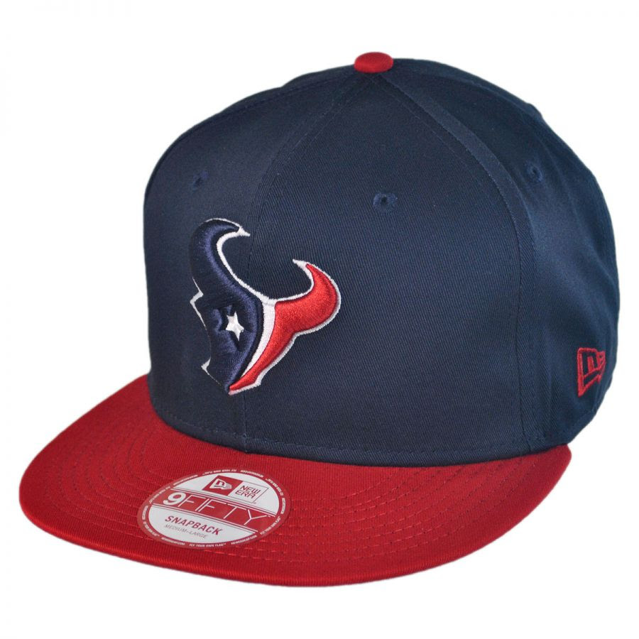 New Era Houston Texans NFL 9Fifty Snapback Baseball Cap NFL Football Caps